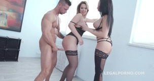 Double Addicted with Jolee Love & Nikky Dream Balls Deep Anal / DAP/ ATOGM / Gapes / Swallow GIO663 small screenshot