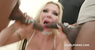 7on1 BBC for Barbie Sins with DAP, TAP, Balls Deep Anal, Gapes, Messy cumshot with swallow GIO886 small screenshot