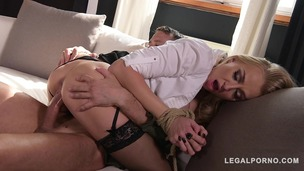 Fetish Loving Milf Kayla Green is Tied Up, Spanked, Fingered, and Fucked GP161 small screenshot