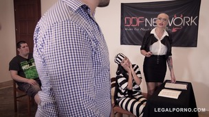 Xtreme court to jail orgy with Cathy Heavan, Kayla Green, Andreina De Luxe GP271 small screenshot