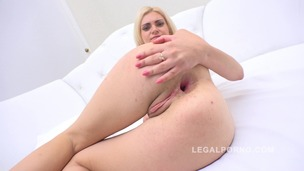 Blonde slut Florina White first anal RS139 small screenshot