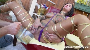 Tattoos, Squirting and Anal Gapes! This Is Bonnie Rotten MA094 small screenshot