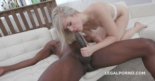 Nikki Hill first Time BBC with balls deep anal, Gapes, Swallow GIO1132 small screenshot