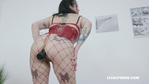 Adeline Lafouine gets fucked and takes a bottle up her ass IV418 small screenshot