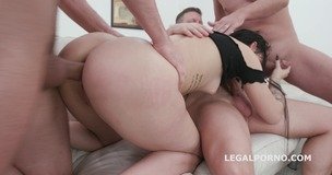 Dapped Twins #2 Lady Zee first Time DAP, Balls Deep Anal, DAP, Gapes and Swallow GL117 small screenshot