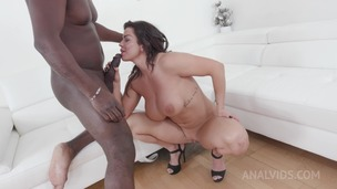 Chloe Lamour casting with big black cock KS024 small screenshot