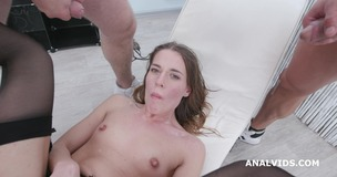Fucking Wet with Eveline Dellai, Balls Deep Anal, DAP, Pee Drink and Facial GIO1449 small screenshot