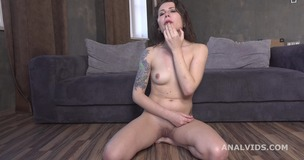 3on1 DP for Valletta Vesta, Balls Deep Anal, Gapes and Cum in Mouth GL197 small screenshot