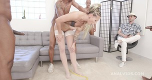 Cuckold Dream, Jolee Love gets a surprise from her man, 4 BBC for Balls Deep Anal, DAP, Gapes and Swallow GIO1548 small screenshot