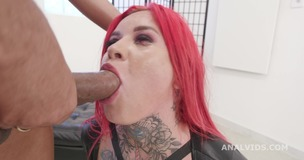 Black Pee, Sabien Demonia goes Wet with 2 BBC with Balls Deep Anal, DP, Pee Drink and Creampie Swallow GIO1609 small screenshot