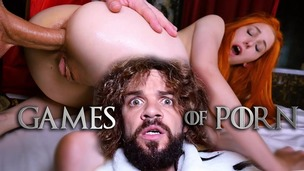 GameOfPorn #4: Lady Sansa ASSFUCKED by the King of the North JMC025 small screenshot
